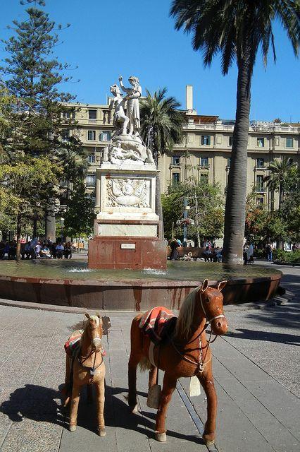 Plaza de Armas Santiago, Chile