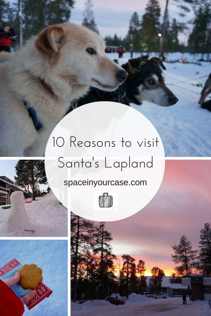 10 Reasons to visit Santa's Lapland