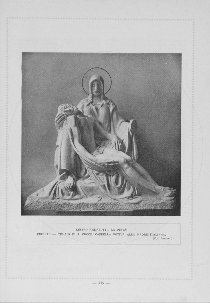 firenze santa croce - monumento alla madre italiana