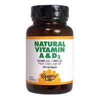 """Vitamin A & D 10,000IU – 400IU, 100 Sftgls by Country Life (Pack of 2)       Famous Words of Inspiration...""""Nature and wisdom never are at strife.""""   Plutarch — Click here for more from... more details at http://supplements.occupationalhealthandsafetyprofessionals.com/vitamins/vitamin-a/product-review-for-country-life-vitamins-vitmin-ad100000400-uts-100-sgel/"""