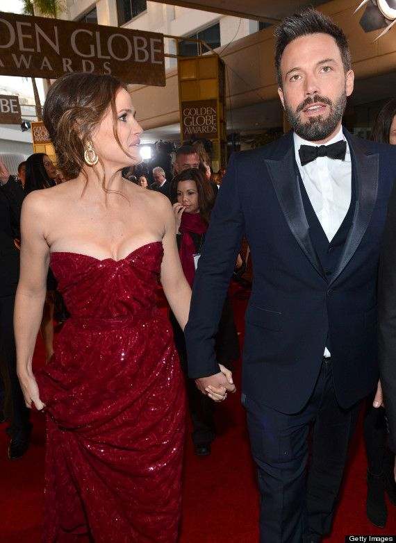 My favorite Hollywood couple! I love them both! Ben Affleck & Jennifer Garner at the Golden Globes