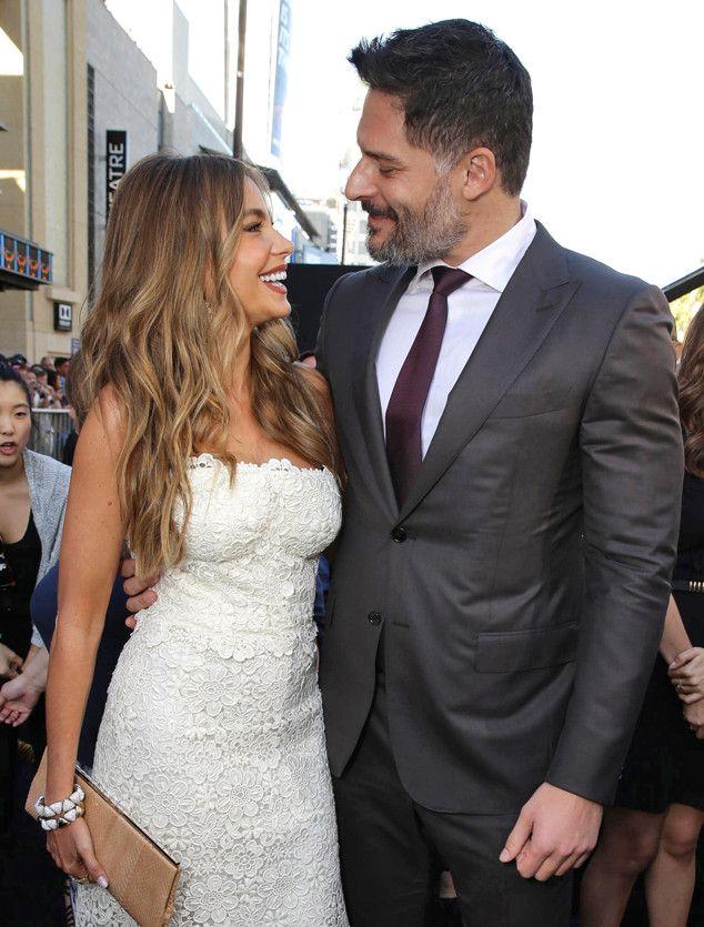 SOFÍA VERGARA & JOE MANGANIELLO The engaged couple give us a sneak peek at how gorgeous their wedding photos will be at the L.A. premiere of Magic Mike XXL. #celebritynews #fashion #celebritystyle