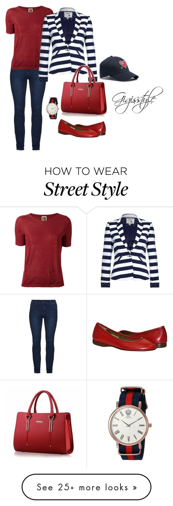 """Seeing the Sights"" by gigisstyle on Polyvore featuring I'm Isola Marras, Yumi, Vince Camuto and Tommy Hilfiger"