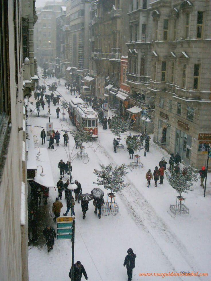 winter in Istanbul, Turkey