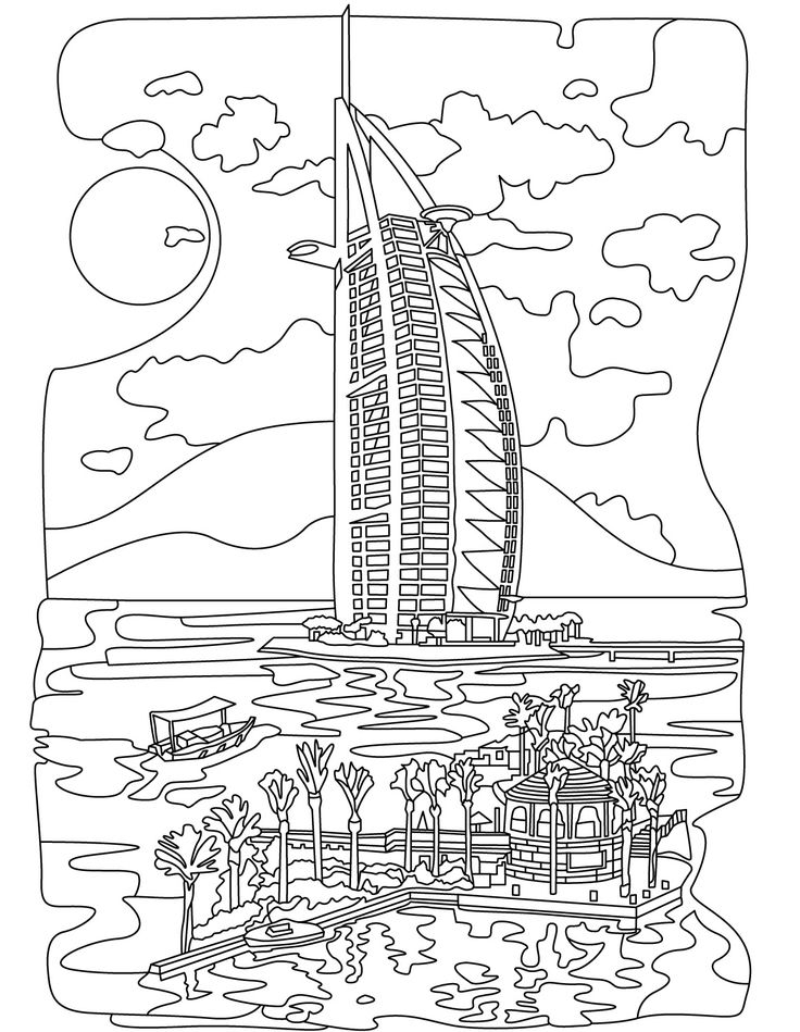 Coloring pages for adults app ~ 265 best images about Architecture Coloring Pages for ...