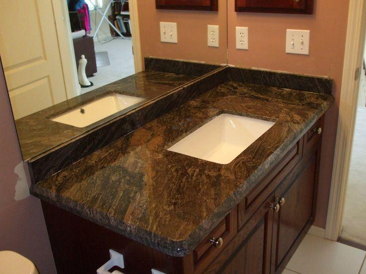 supreme granite floating mitered edge apron vanity our granite
