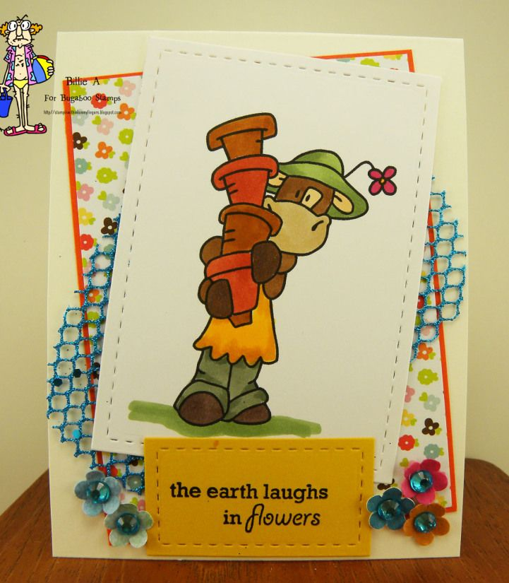 Bugaboo digi stamp Friday freebies