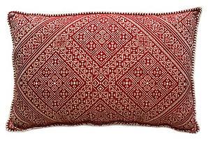 Archer Pillow, Red