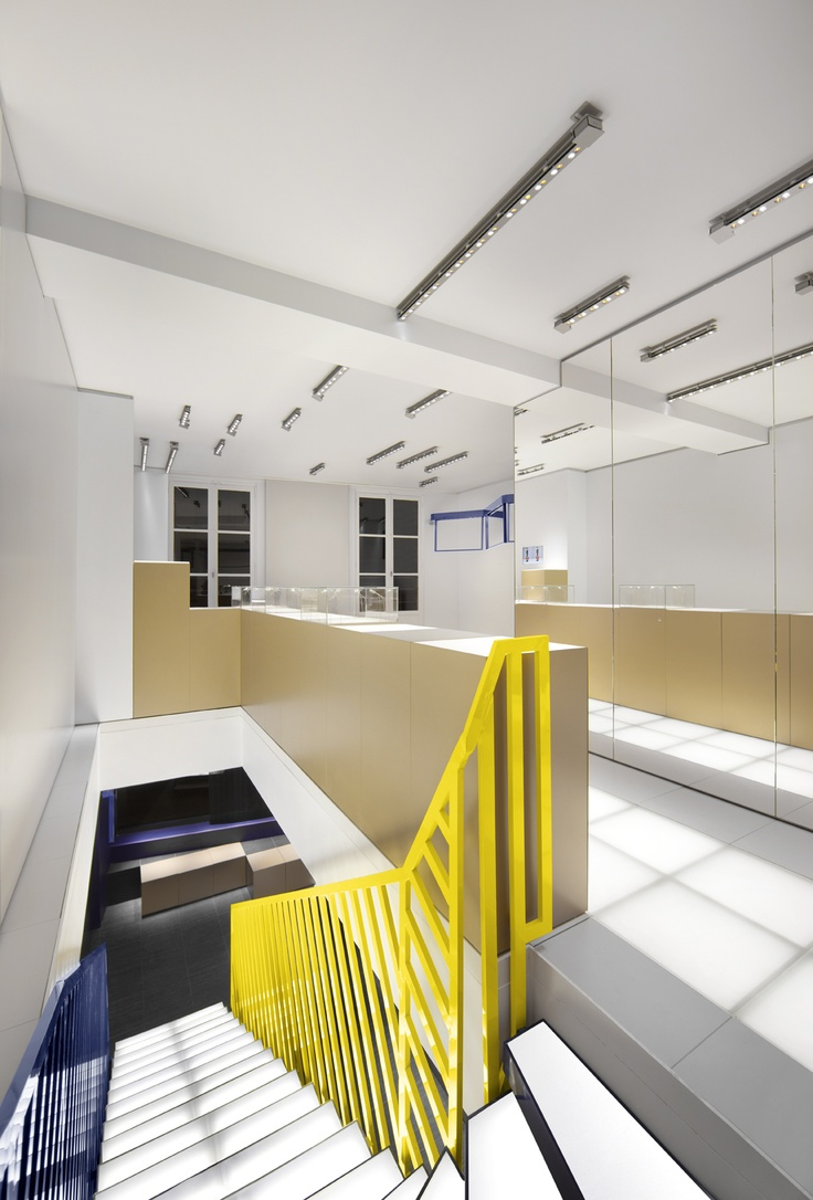 125 best retail space design concept store images on pinterest balenciaga men s store opens in paris