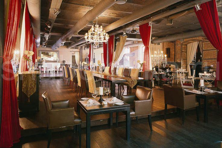 интерьер в стиле лофт / loft interior design Архитектурное бюро Шаболовка