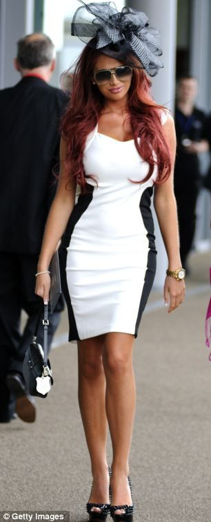 Amy Childs. Saving this for the mad hatter's ball this coming year.