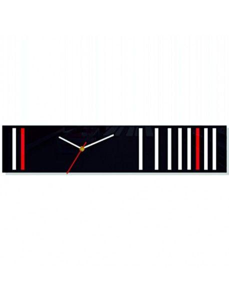 Nástěnné hodiny Fagle. Rozměr 56 x 12 cm Kód:  FL-z40- Hodiny ako obraz Stav:  Nový produkt  Dostupnost:  Skladem  Přišel čas na změnu! Dekorační hodinky oživí každý interiér, zvýrazní šarm a styl Vašeho prostoru. Zůtulní realít s novými hodinami. Nástěnné hodiny z plexiskla jsou nádhernou dekorací Vašeho interiéru.