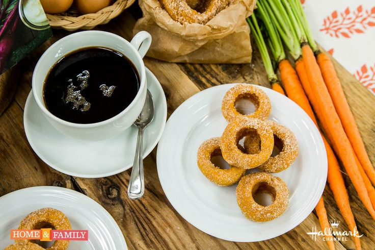 They are healthy and tasty! The Sneaky Chef's Skinny Sweet Potato Donut Bites! For more great recipes tune in to Home & Family weekdays at 10a/9c on Hallmark Channel!