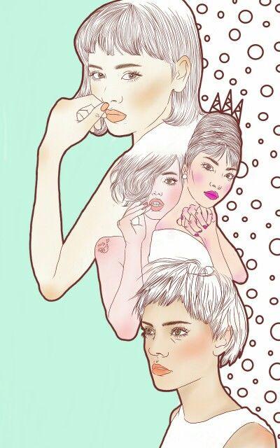 #NanNi #난니 #그림그리는여자 #Art #아트 #그림 #수작업 #손그림 #illustration #illust #일러스트 #design #디자인 #sketch #스케치 #drawing #드로잉 #croquis #크로키 #artwork #love #follow #relationship #girls #mint