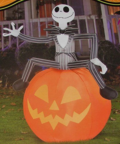 38 best images about disney halloween on pinterest - Jack skellington decorations halloween ...