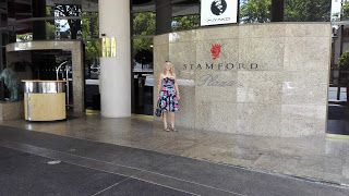 kiwibird: Afternoon tea at the Stamford Plaza, Adelaide