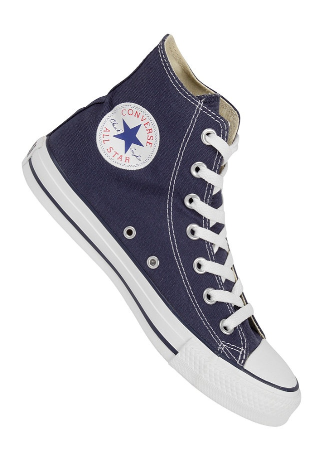 CONVERSE - Chuck Taylor All Star Hi navy- I NEEED these for school!!