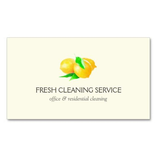 17 Best images about Business Cards for Cleaning Services
