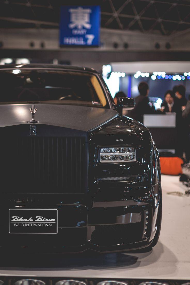 The Black Bison Rolls-Royce Ghost, by Wald International.