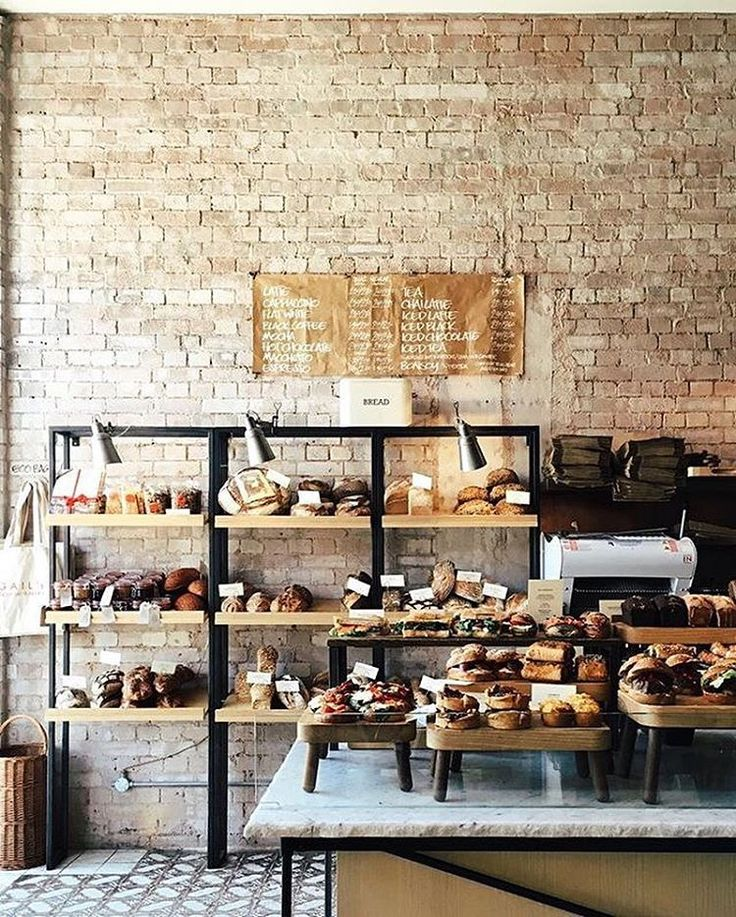 Nice Interior Design For Bakery This Is Lovely Maybe A Little Too Posh Not  Rustic Enough But