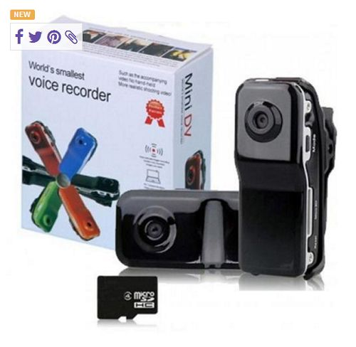 MD80 Mini DV Hidden Video Camera Spy Camcorde. Starting at $1