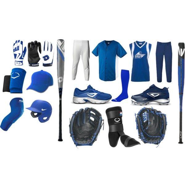 """Baseball & Softball Uniforms"" by eappah on Polyvore"
