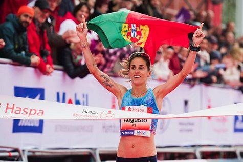 Athletics: Tsegaye Mekonnen and Jessica Augusto triumph in Haspa Hamburg Marathon