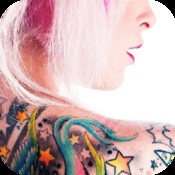 Tattoo Designs App  By Blood Orange    Millions of HD tattoo designs in more than 150 categories.  Edit, save, email or share on Facebook with friends.  Professionally designed interface that makes browsing photos fast and enjoyable.