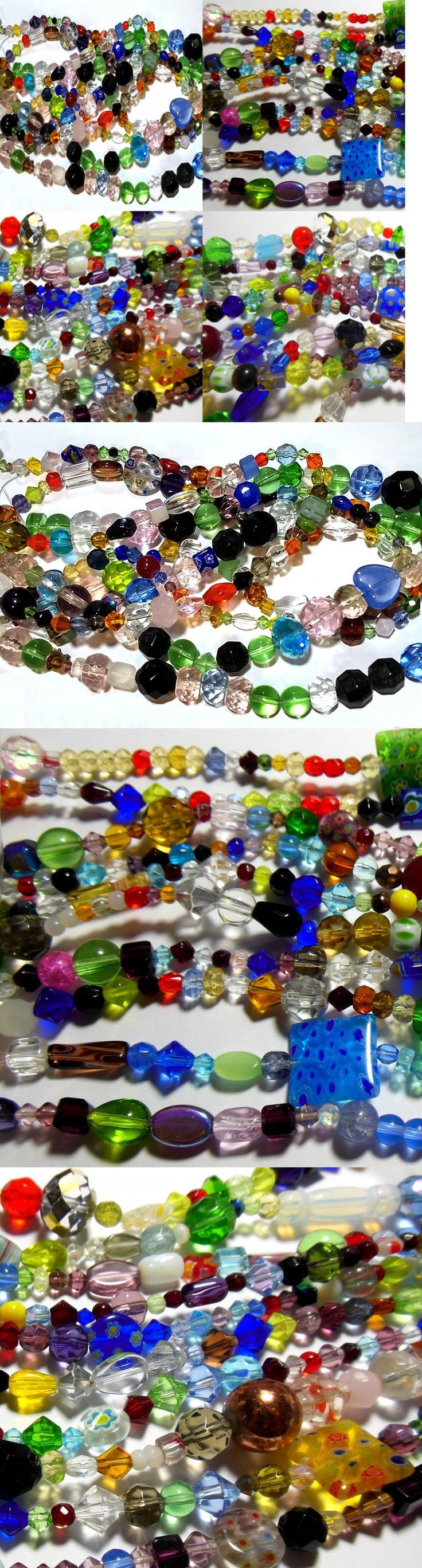 itm mixed colors beads glass one lot assorted lampwork pound bulk in buy hot wholesale