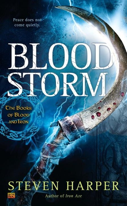 Blood Storm: The Books of Blood and Iron by Steven Harper - On Sale Date: December 1, 2015