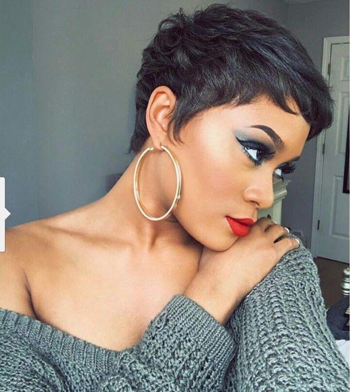 Awe Inspiring Top 25 Best Short Black Hairstyles Ideas On Pinterest African Short Hairstyles Gunalazisus