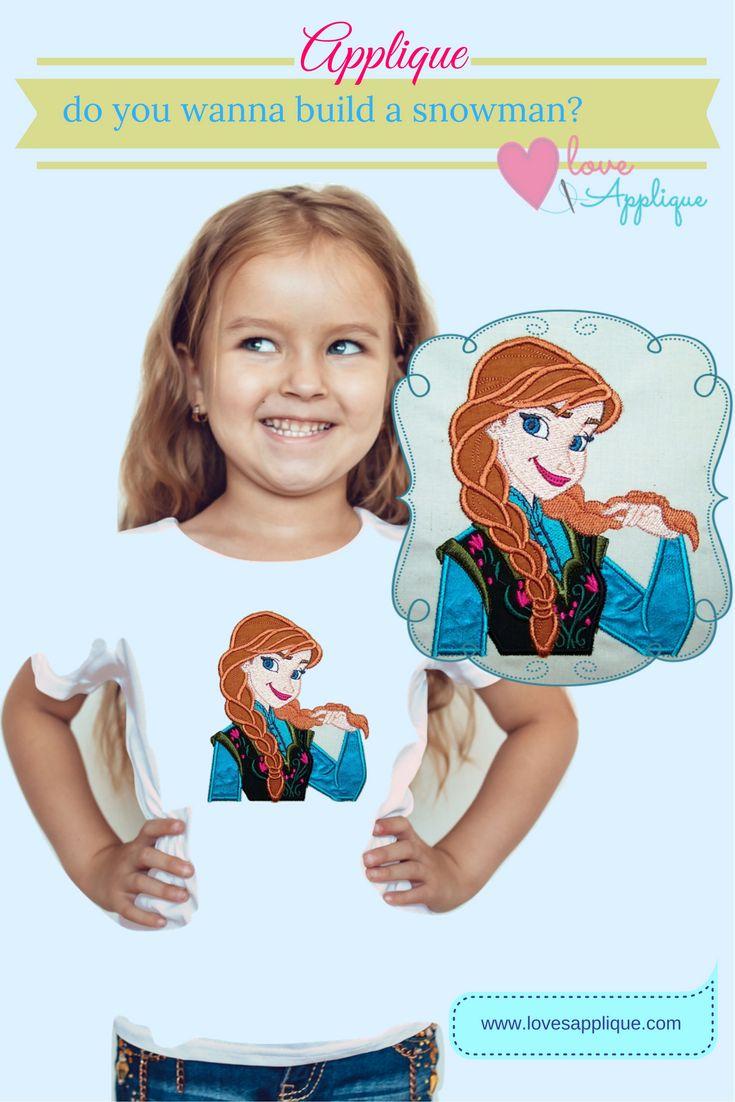 Frozen Applique Designs. Elsa and Anna. Frozen Outfits, Frozen Designs. Frozen Party Ideas. Disney Princess. Disney Applique. www.lovesapplique.com