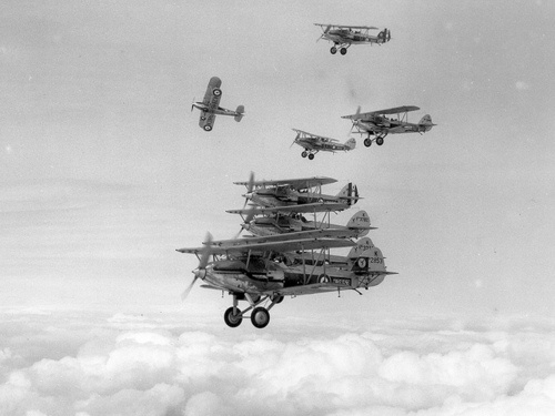 RAF Hawker Demons of No. 23 Squadron .. 1930s
