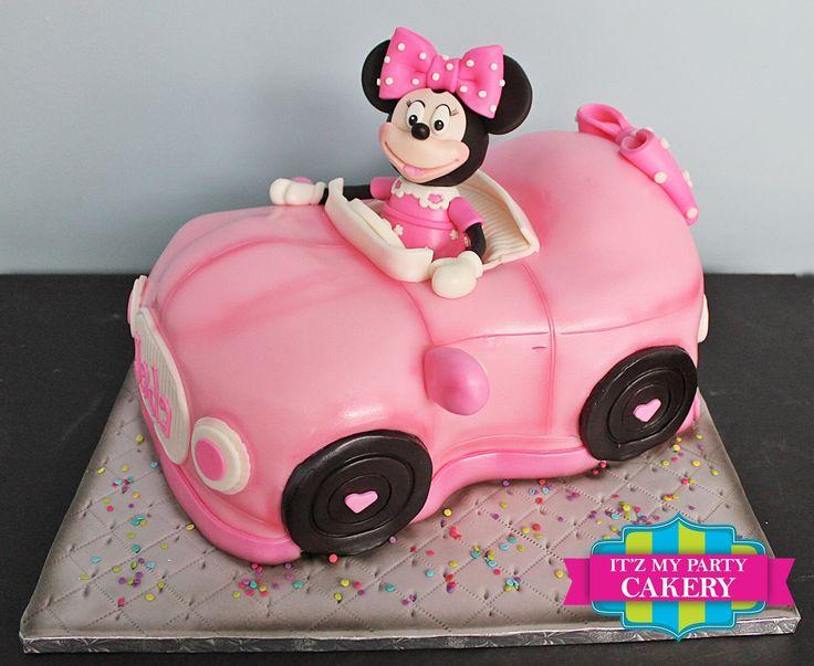 Minnie Mouse Coupe Cumplea 241 Os De Los Minions Pastel