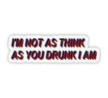 Panic! At The Disco - Don't Threaten Me With A Good Time Lyrics Death Of A Bachelor ( P!ATD - DTMWAGT DOAB ) Sticker