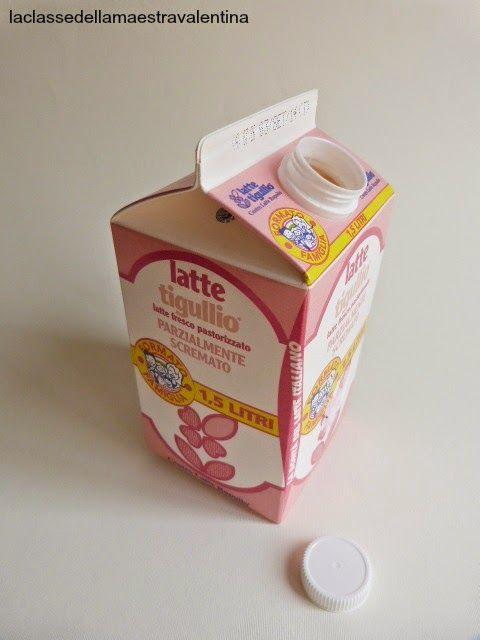 Care creative, sicuramente casette fatte con i cartocci del latte ne avete viste tante su internet... ma non avete mai visto la mia!    ...