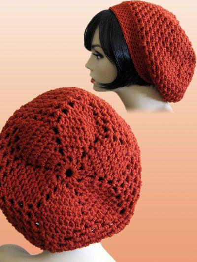 Crochet - Starflower Slouch Hat - #REC1372