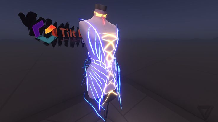 Tiltbrush is going to be great for fashion too.
