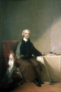 Charles Carroll of Carrollton was the last Signer of the Declaration of Independence to die. He was an influential political force in Maryland and was the only Catholic to serve as a delegate. He organized the burning of the Peggy Stewart in response to the tea tax and was an early supporter of independence.