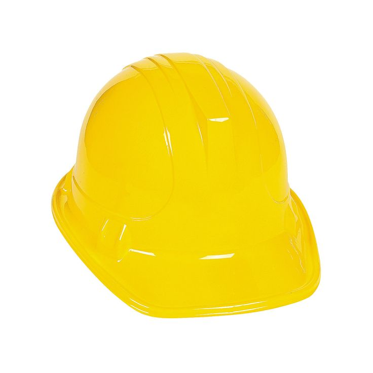 Child's Construction Hats - OrientalTrading.com