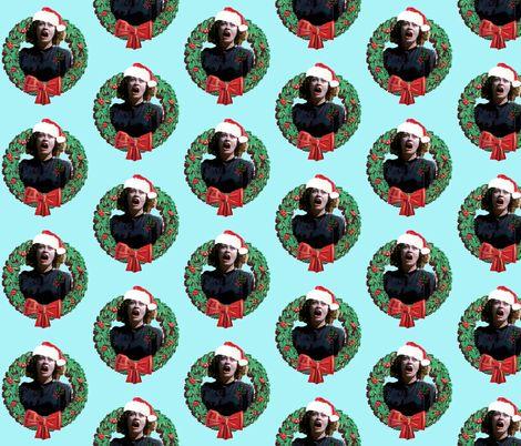 Mommie Dearest Christmas fabric by hollywood_royalty on Spoonflower - custom…