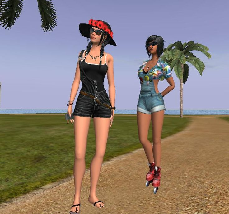 """""""In summer..."""" Amazona in Twinity! http://ht.ly/QiJ55 #3Davatar #3Dchatworld #RP #adultroom"""