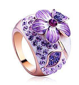 Vancaro ring my goodness.... more bling than i own in my whole closet!