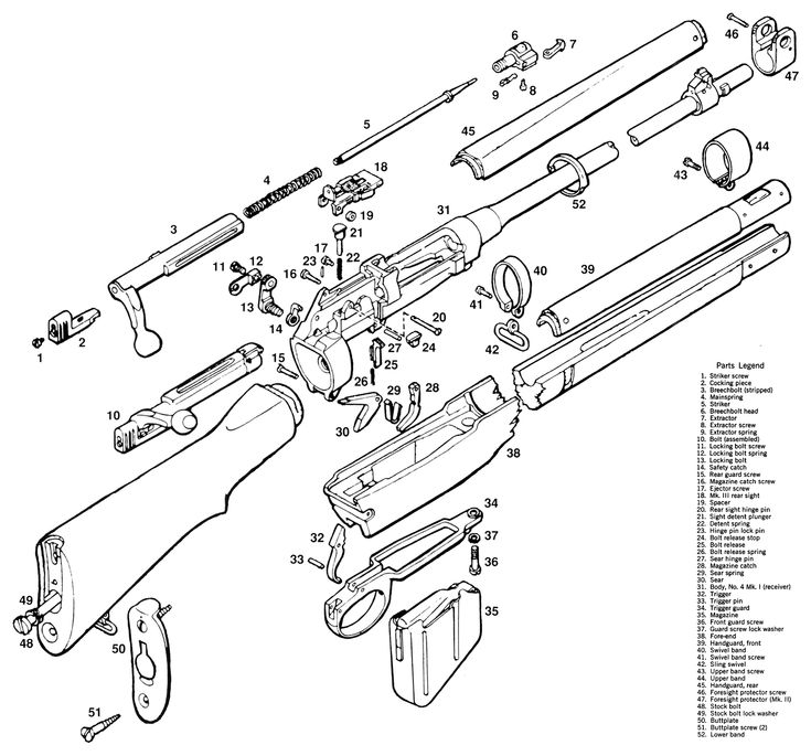 garand parts diagram  garand  free engine image for user