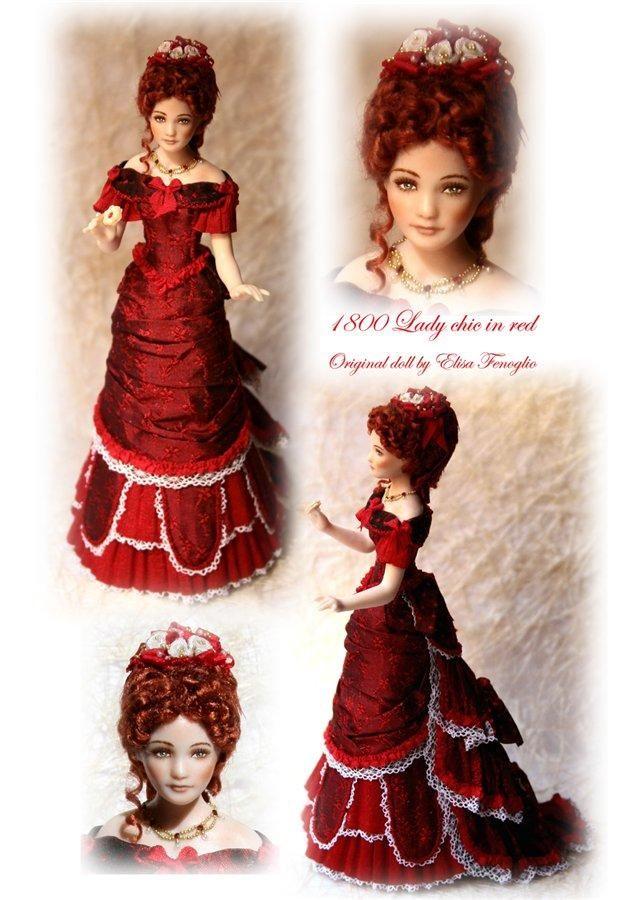 Miniature dolls Elisa Fenoglio .. Discussion on LiveInternet - Russian Service Online Diaries