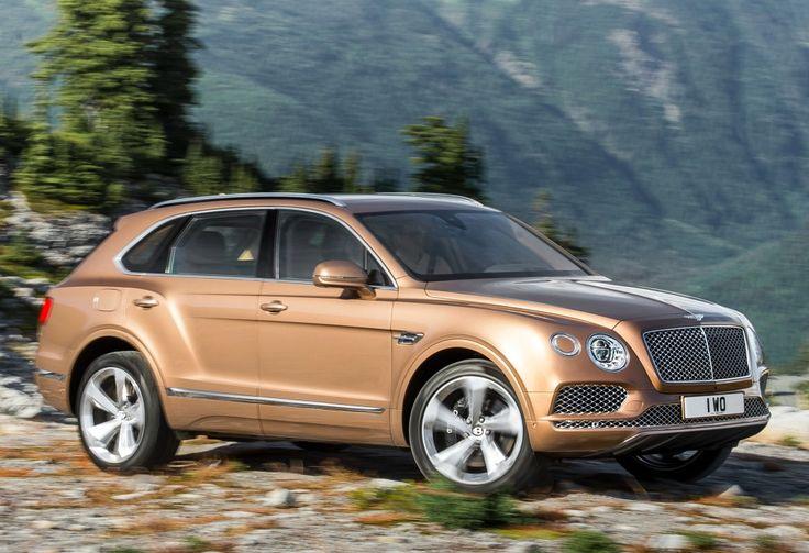 2016 Bentley Bentayga SUV interior, price, photos