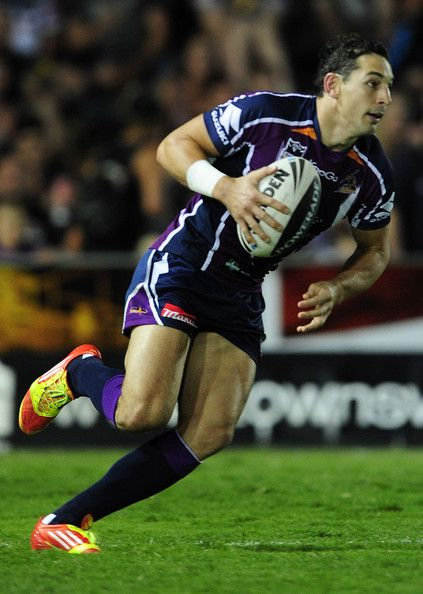 Billy Slater from the Melbourne Storm
