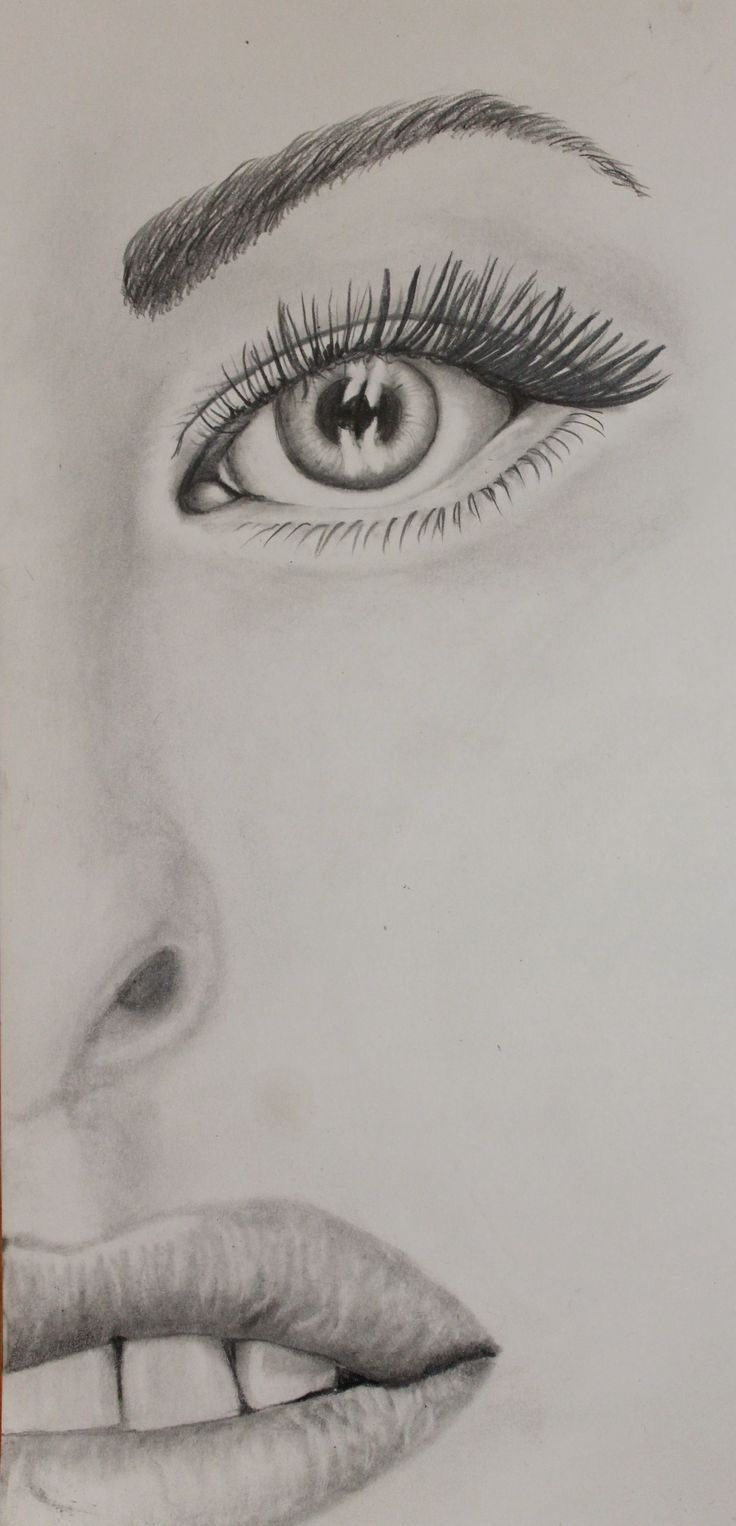 Graphite Eye, Lips and Teeth study completed