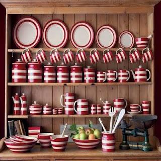 Open Cupboard - Cup hooks on front of shelf instead of underneath