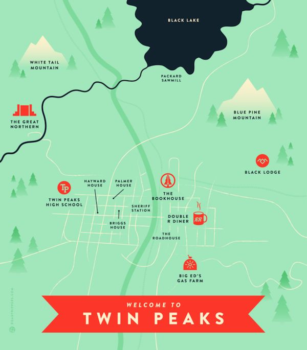 David Lynch'sTwin Peakswas a thoroughly groundbreaking, mind-bending, life-altering cult hit when it first premiered 23 years ago. If you find yourself journeying around the Pacific Northwest,do...